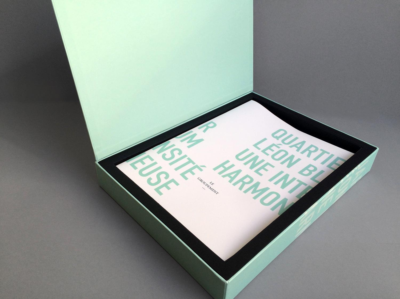 narrative identité projet et coffret packaging ogic