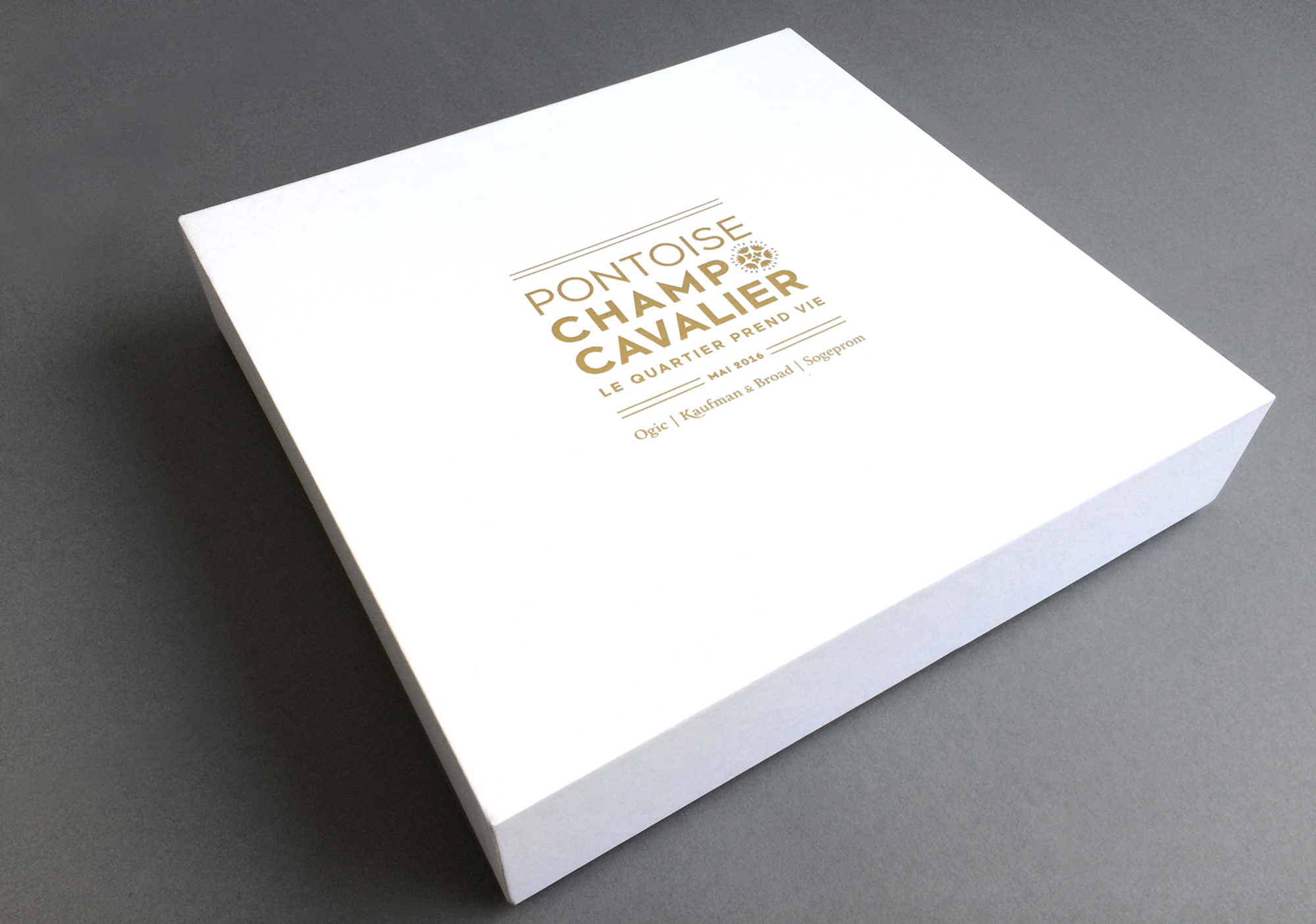 Coffret packaging Pontoise