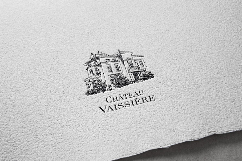 Identité graphique Château Vaissière