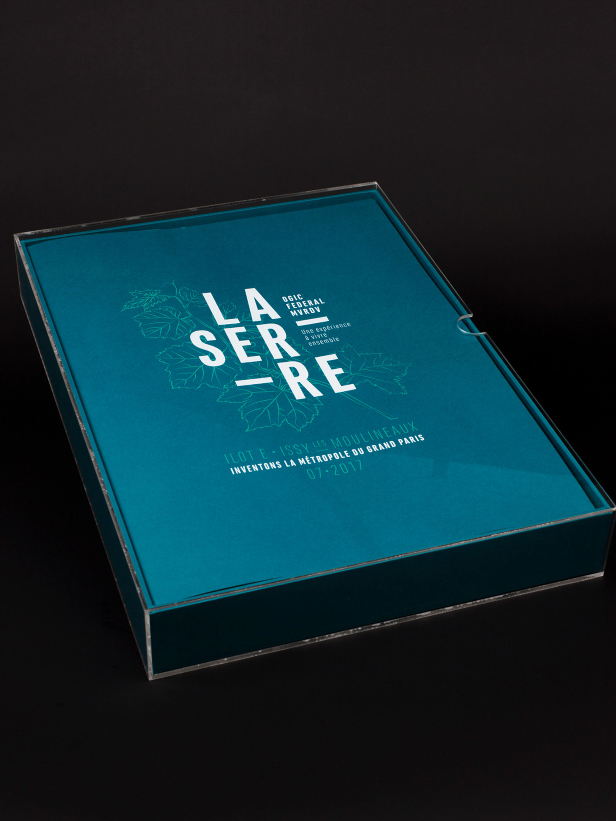 Narrative - Identite projet et coffret Ogic
