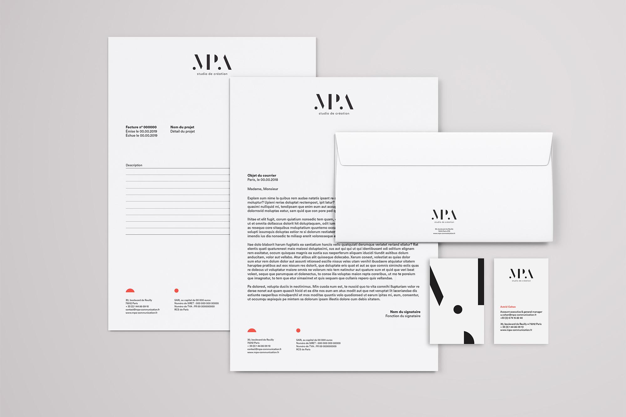 identité visuelle MPA