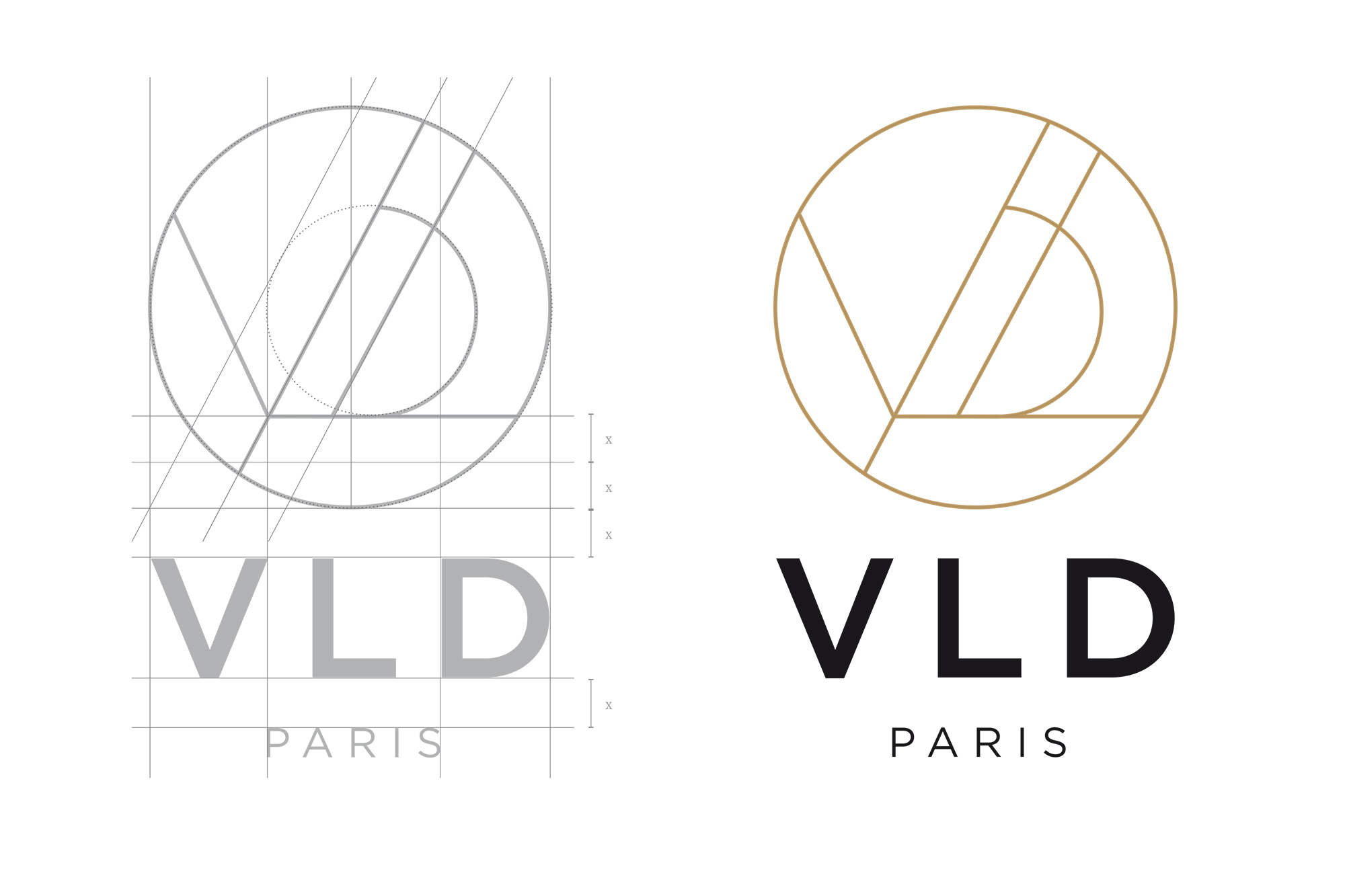 identité visuelle vld Paris - Narrative