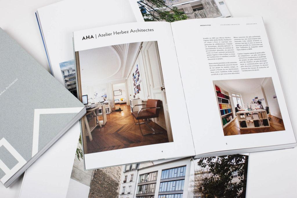 édition présentation projets architecte